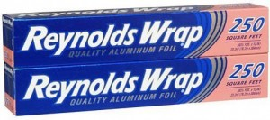 This aluminum foil from Reynolds is our recommended aluminum foil.