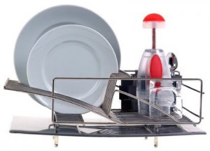 Dhis dish rack from Zojila Rohan is our premium dish rack pick.