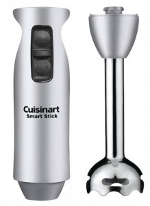 The two-speed stick blender from Conair is our recommended immersion blender.