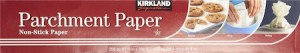 This parchment paper from Kirkland is our recommended parchment paper.